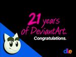 21 years of deviantart