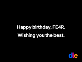 birthday memo for FE4R