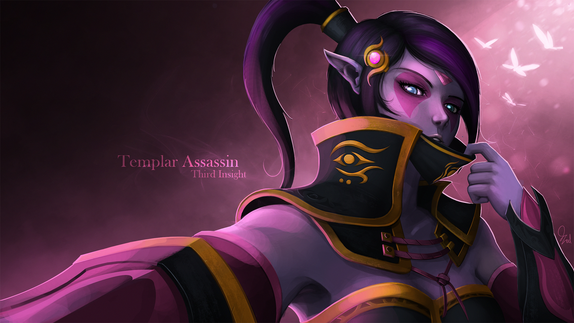 templar assassin by qassamzed on deviantart