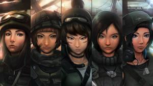 Machinata : Squad up! by qassamzed