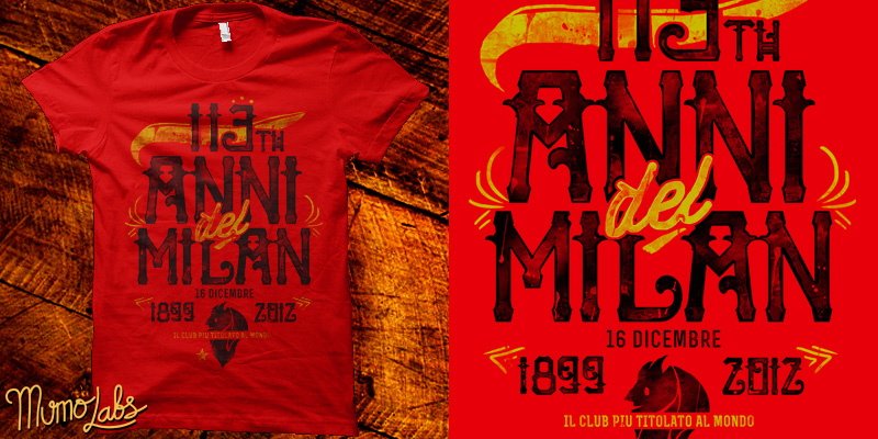 113th Anni del Milan by mumolabs