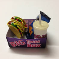 Miniature Taco box