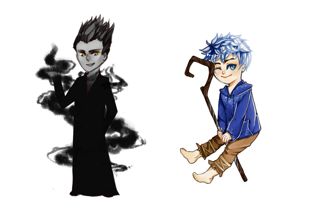 {Rise of the Guardians}{Jack and Pitch} by butterbly