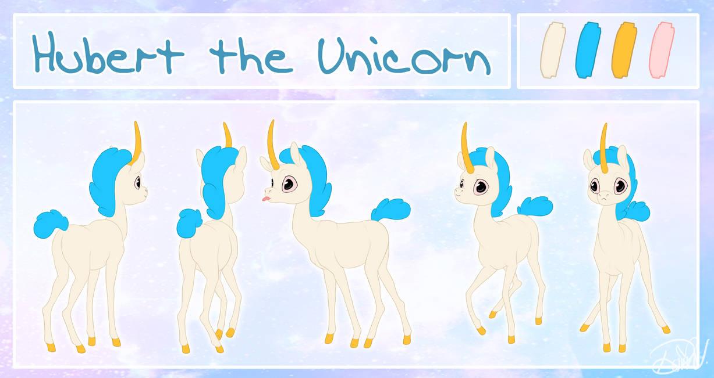 Hubert the Unicorn - Character rotation