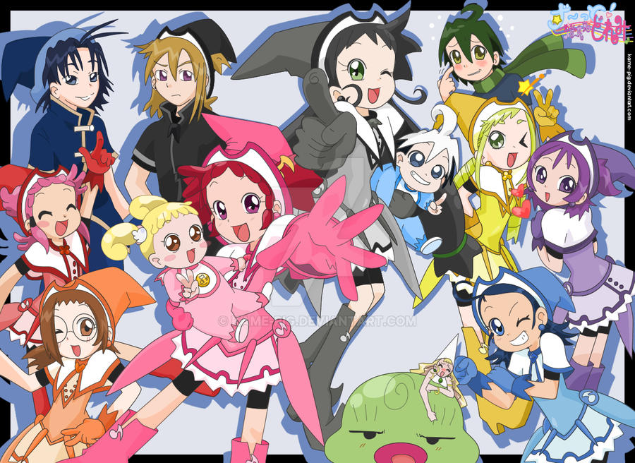 Wallpaper Zutto Ojamajo Doremi By KamE Pig