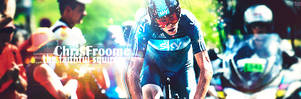 Chris Froome signature