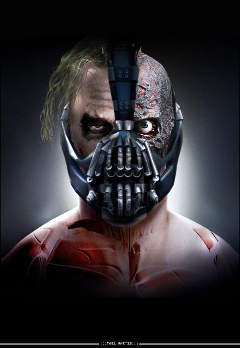 Joker - Bane - Two-Face