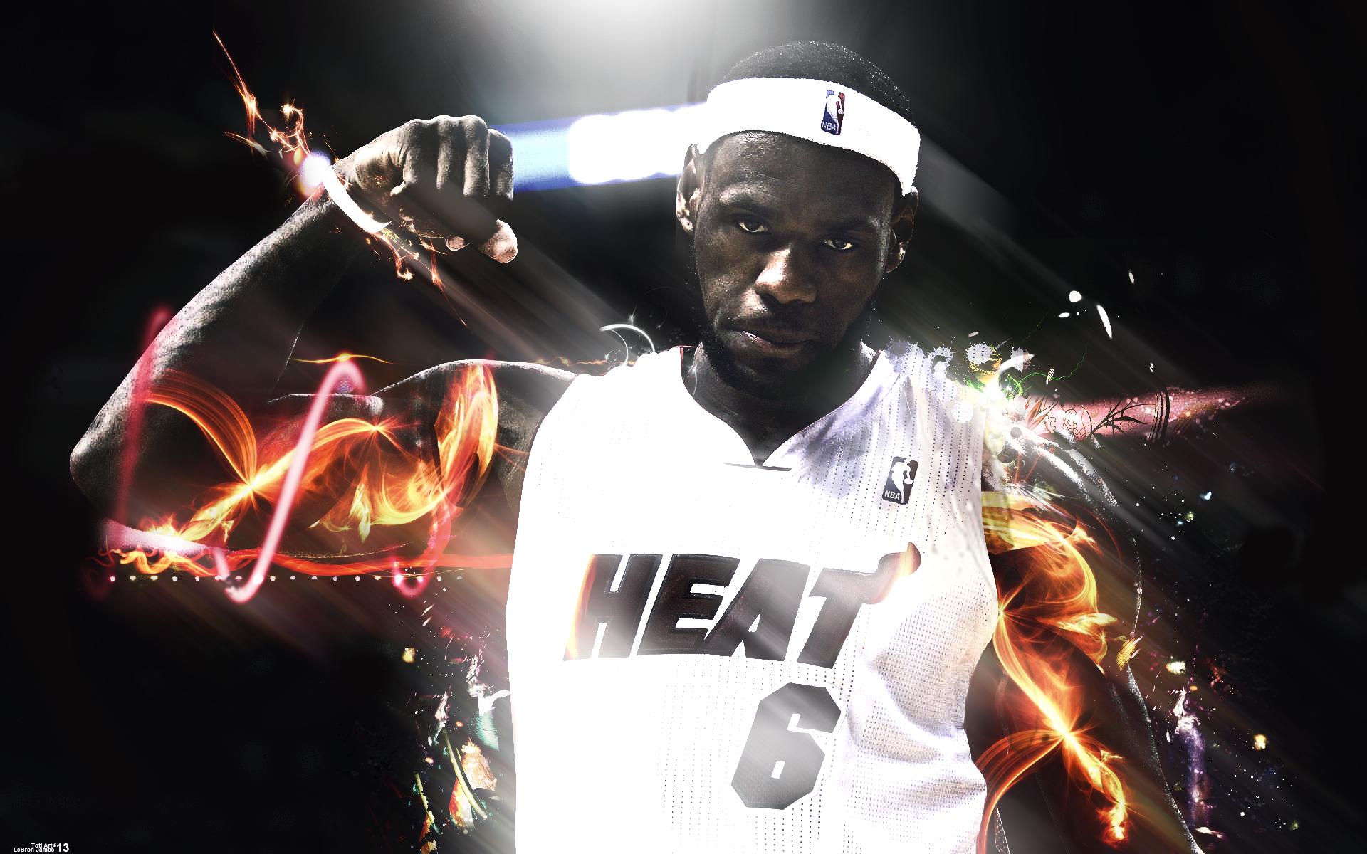 LeBron James by Toti-Gogeta