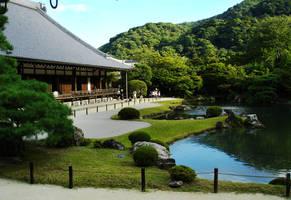 Tenryuu-ji Landscape Garden by EigoK8