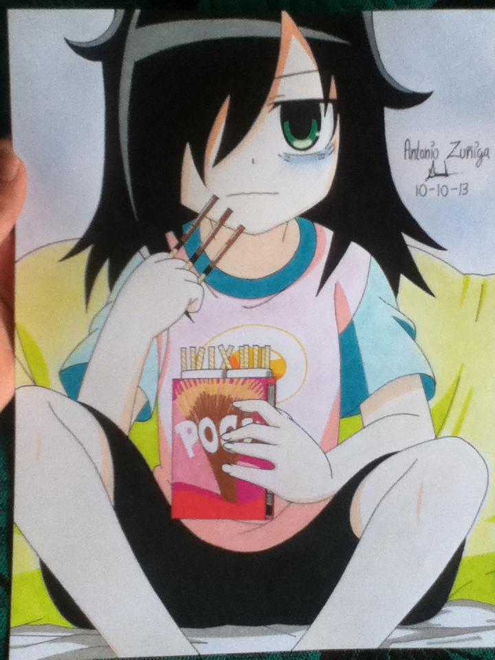 Kuroki Tomoko by ZeRo-SaMa23