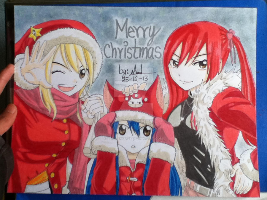 Merry Christmas by ZeRo-SaMa23