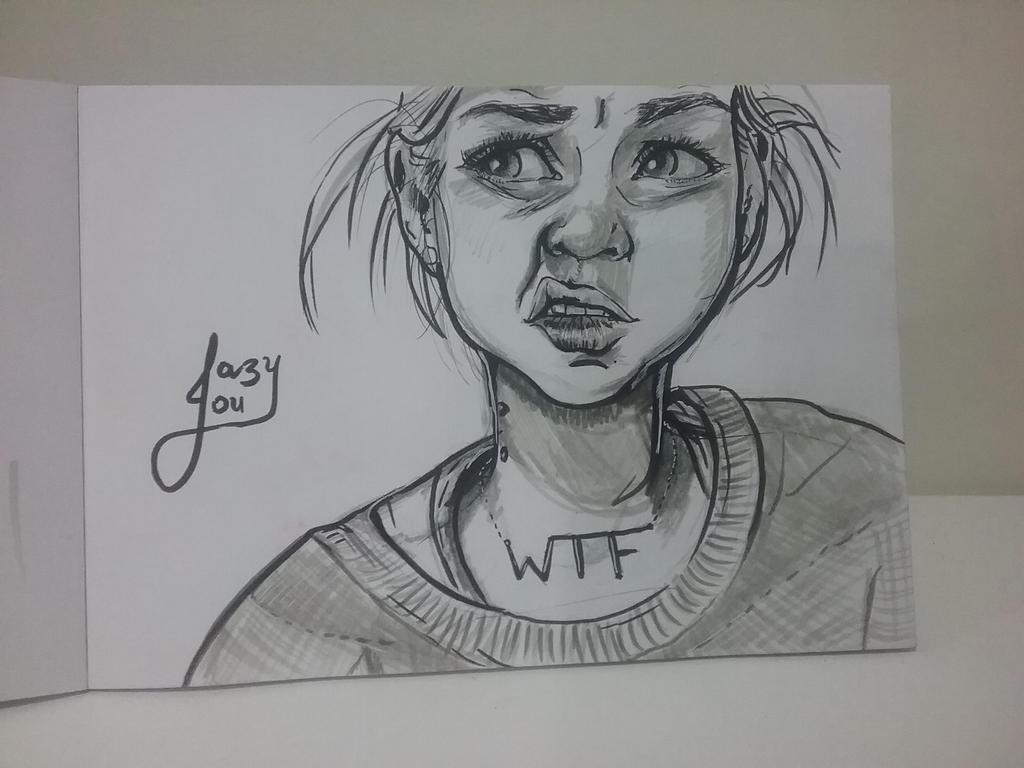 wtf? by JazyLouArt