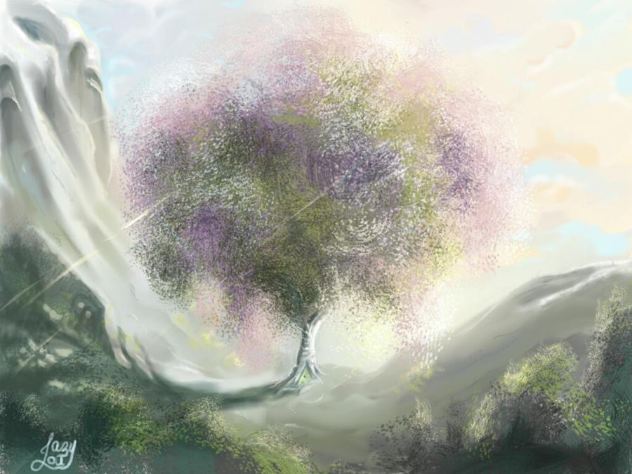 Solitude  by JazyLouArt