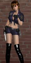 Pinup: Officer Hannah