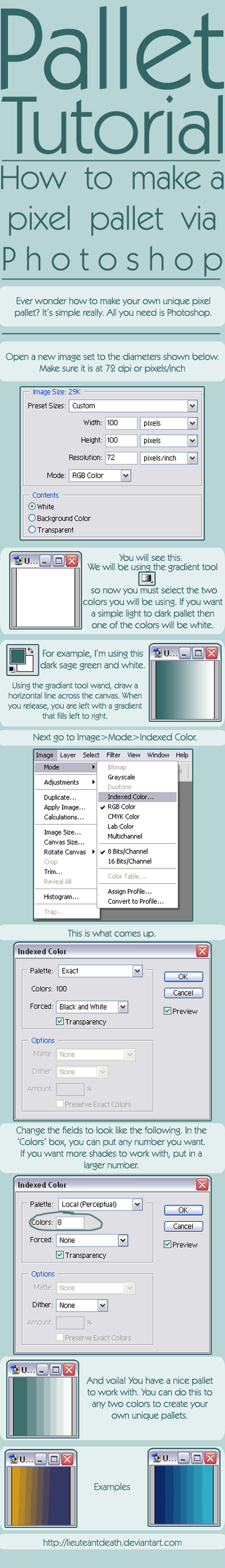 How to Work in the Layers Palette in Adobe Photoshop CS5