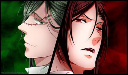 Shinigami and demon