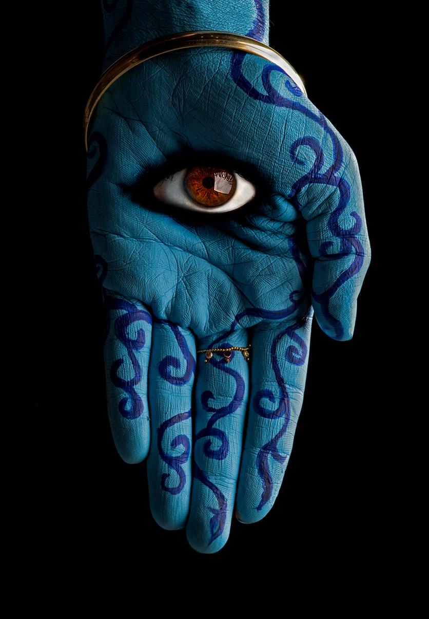 Evil Eye Hand Art | www.imgkid.com - The Image Kid Has It!
