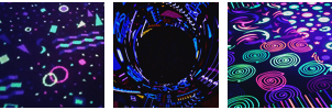 colorful glow aes divider + f2u by softglitch
