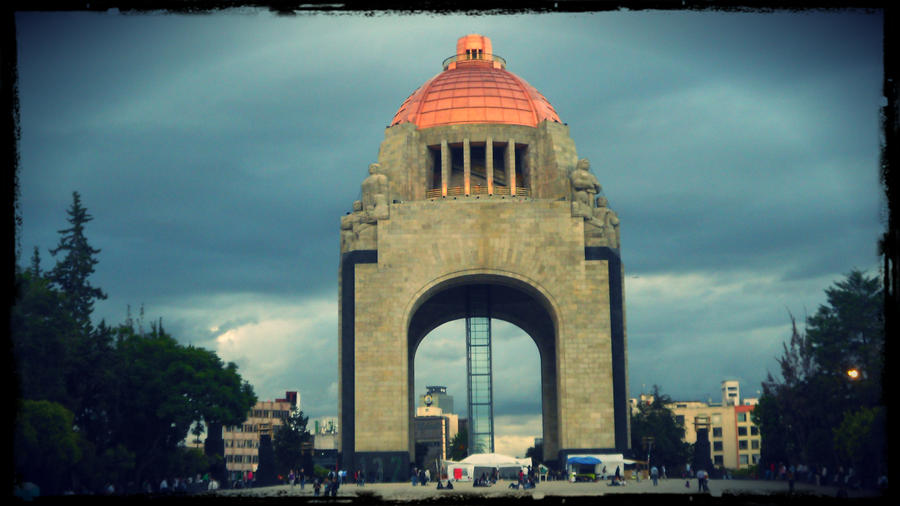 MONUMENTO A LA REVOLUCION by TOVARDAMASO
