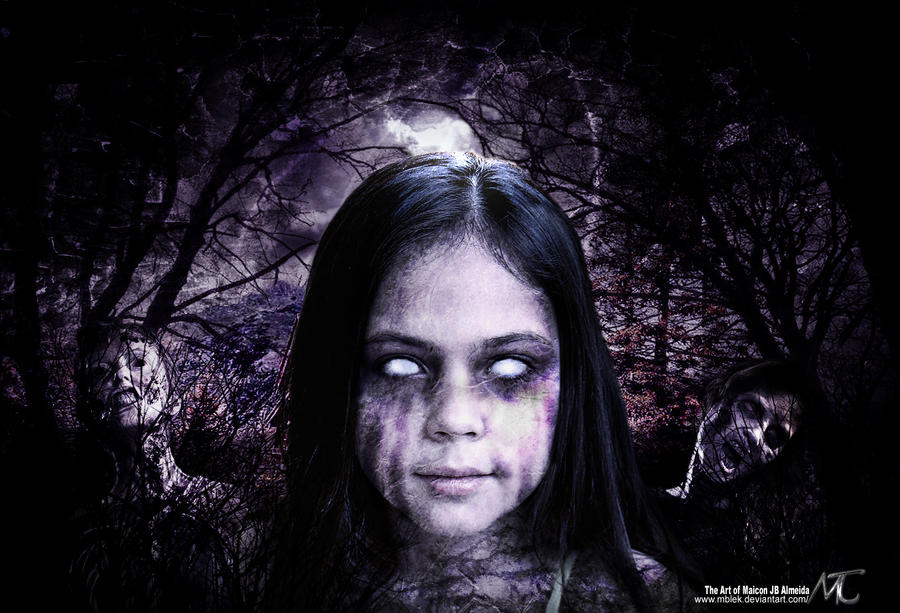 Little Dark Zombie Girl by MBlek on DeviantArt