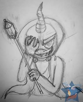 +Spyro+ Ripto is back sketch