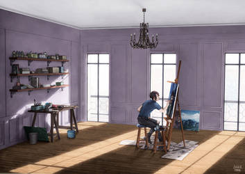 L'atelier by luciehyef