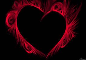 Fiery Heart by InkingLove