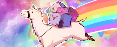 Nyan Llama
