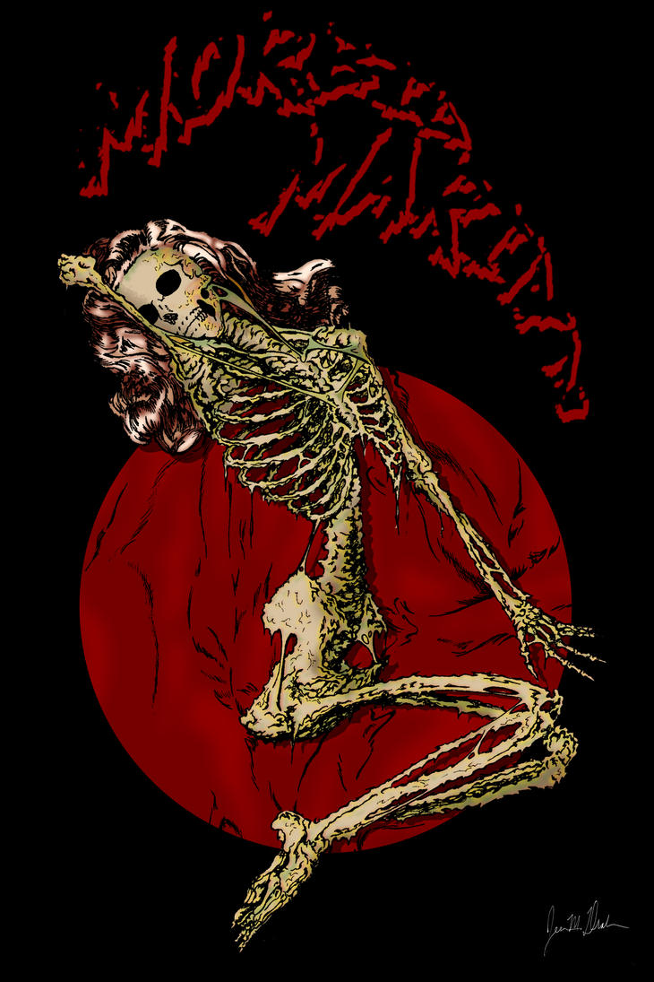 Morbid Marilyn small by malcolmjdrake73