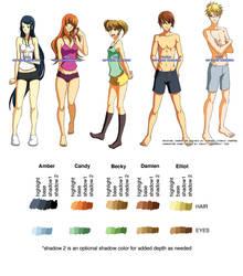 Fanime Character Sheet