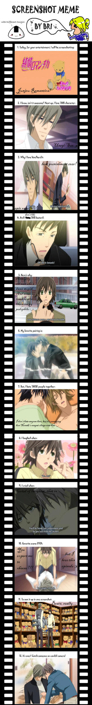 Junjou Romantica Screenshot Meme by DifferentOnigiri