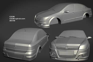 Opel Astra sedan 2009 by GorD6