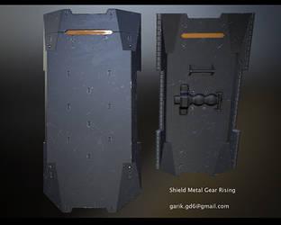 Shield Metal Gear Rising by GorD6