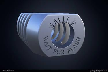Muzzle Brake Smile by GorD6