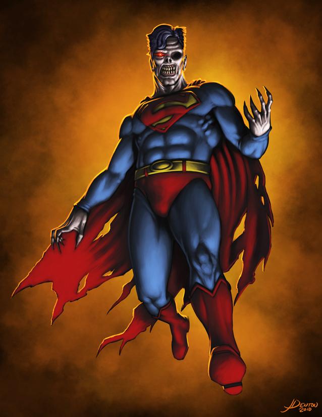Zombie Superman by JamesDenton
