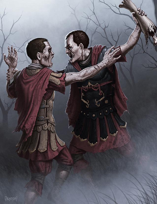Zombie Legio by JamesDenton