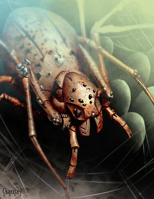 Rust Spider by JamesDenton