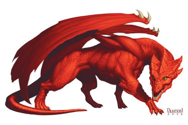 Red Dragon by JamesDenton