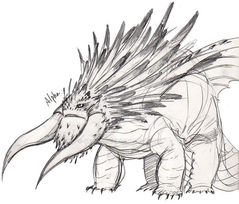 Как нарисовать смутьяна из как приручить дракона