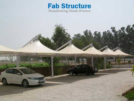 Tensile Car Parking Structure in Pune by punefabstructure