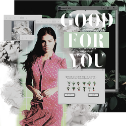 good for you by CamilaEdittions