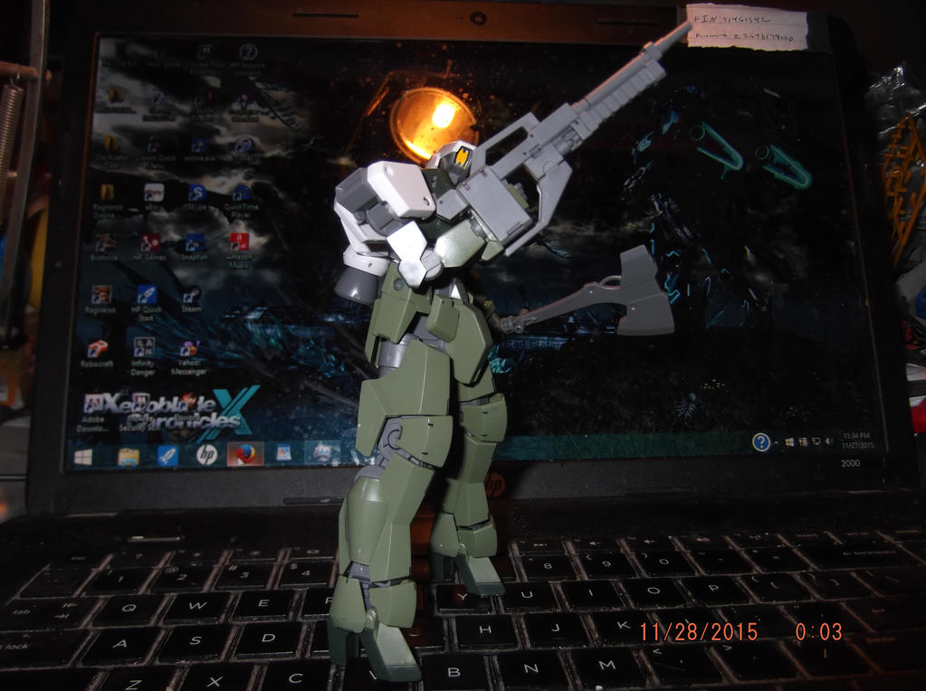 1/144 HG Graze Kai by striker0