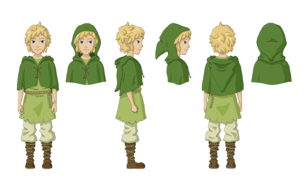Link as Child - Concept Art by TheDreamTraveler on DeviantArt
