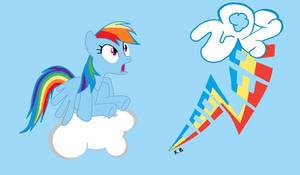 Rainbow Dash 20 % Cooler My littel Pony