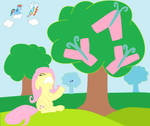 fluttershy yay my litte pony by sallycars