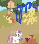 Sweetie Bell Cutie Mark Crusaders Part2_Cutie mark by sallycars