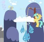 Raindrops Cutie Mark My little Pony