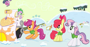 Cutie Mark Crusaders and Spike Winter Wrap Up