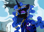 Nightmare Moon  Gala  in Ms-paint