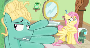 sorry sister ! Fluttershy and Zephyr Breeze